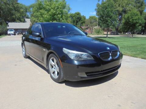 2008 BMW 5 Series for sale at D & P Sales LLC in Wichita KS