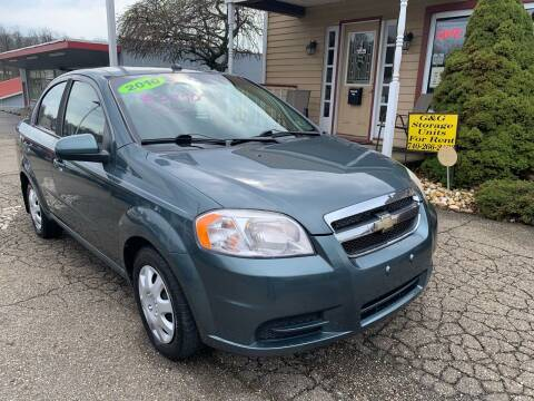 2010 Chevrolet Aveo for sale at G & G Auto Sales in Steubenville OH