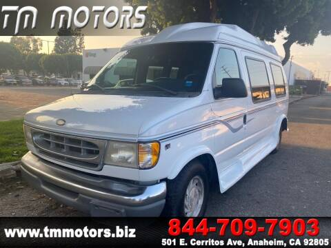 1999 Ford E-Series Cargo for sale at TM Motors in Anaheim CA