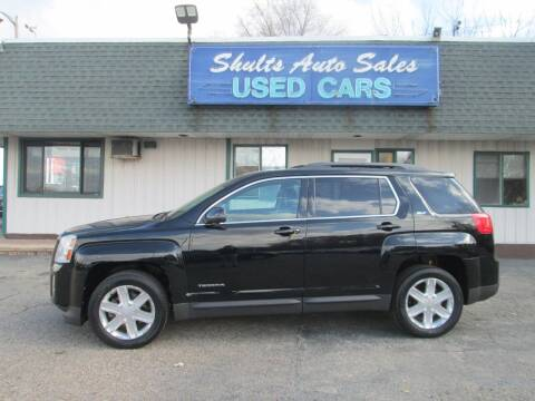 2010 GMC Terrain for sale at SHULTS AUTO SALES INC. in Crystal Lake IL