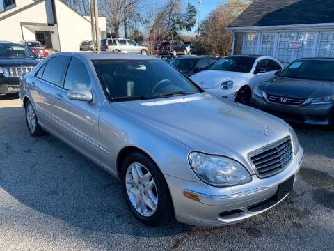 2003 Mercedes-Benz S-Class for sale at Philip Motors Inc in Snellville GA
