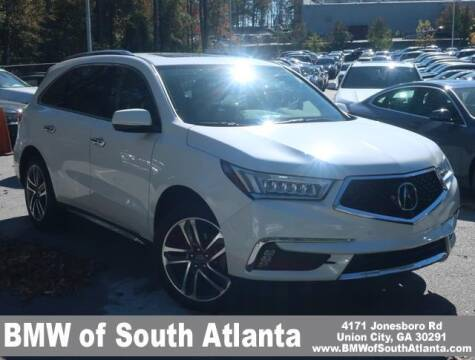 2017 Acura MDX for sale at Carol Benner @ BMW of South Atlanta in Union City GA