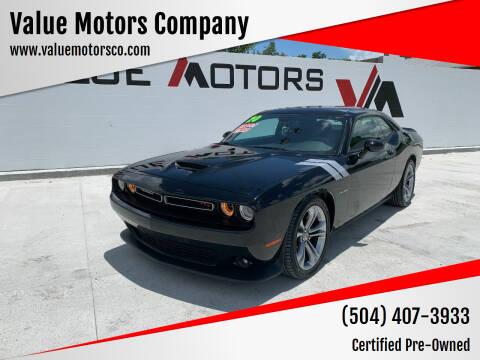 2020 Dodge Challenger for sale at Value Motors Company in Marrero LA