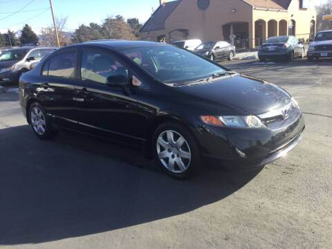 2008 Honda Civic for sale at Beutler Auto Sales in Clearfield UT