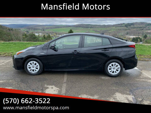 2019 Toyota Prius for sale at Mansfield Motors in Mansfield PA