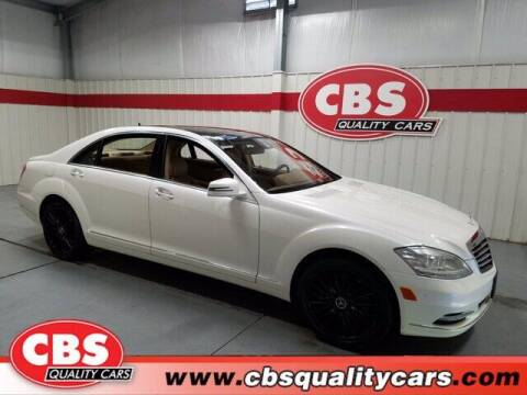 2013 Mercedes-Benz S-Class for sale at CBS Quality Cars in Durham NC