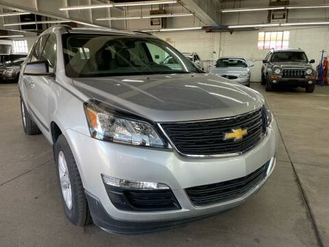 2017 Chevrolet Traverse for sale at John Warne Motors in Canonsburg PA