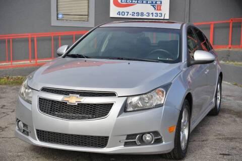 2011 Chevrolet Cruze for sale at Motor Car Concepts II - Apopka Location in Apopka FL