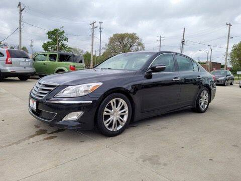 2013 Hyundai Genesis for sale at EURO MOTORS AUTO DEALER INC in Champaign IL