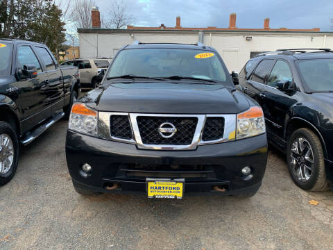 2011 Nissan Armada for sale at Hartford Auto Center in Hartford CT
