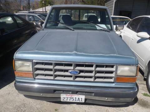 1991 Ford Ranger for sale at AJ'S Auto Sale Inc in San Bernardino CA
