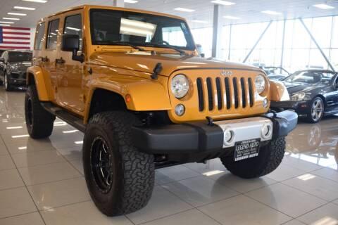 2014 Jeep Wrangler Unlimited for sale at Legend Auto in Sacramento CA