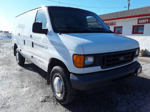 2006 Ford E-Series Cargo for sale at Sarpy County Motors in Springfield NE
