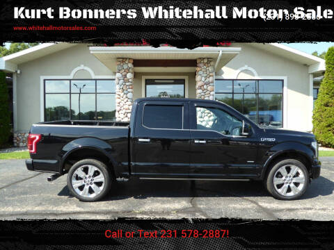 2016 Ford F-150 for sale at Kurt Bonners Whitehall Motor Sales in Whitehall MI