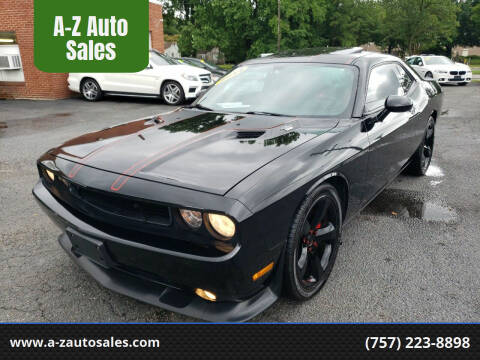 2014 Dodge Challenger for sale at A-Z Auto Sales in Newport News VA