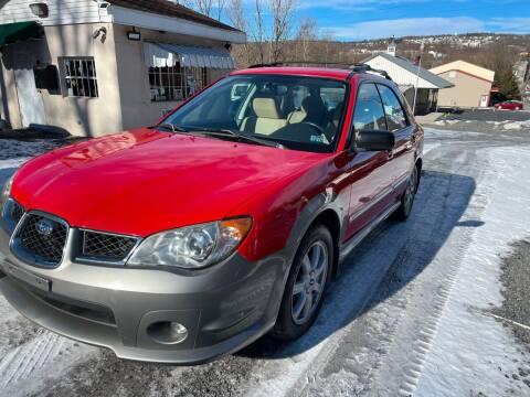 2006 Subaru Impreza for sale at JM Auto Sales in Shenandoah PA