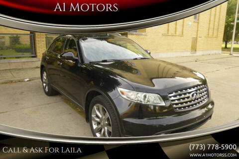2004 Infiniti FX45 for sale at A1 Motors Inc in Chicago IL