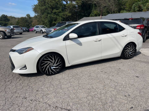 2017 Toyota Corolla for sale at Adairsville Auto Mart in Plainville GA