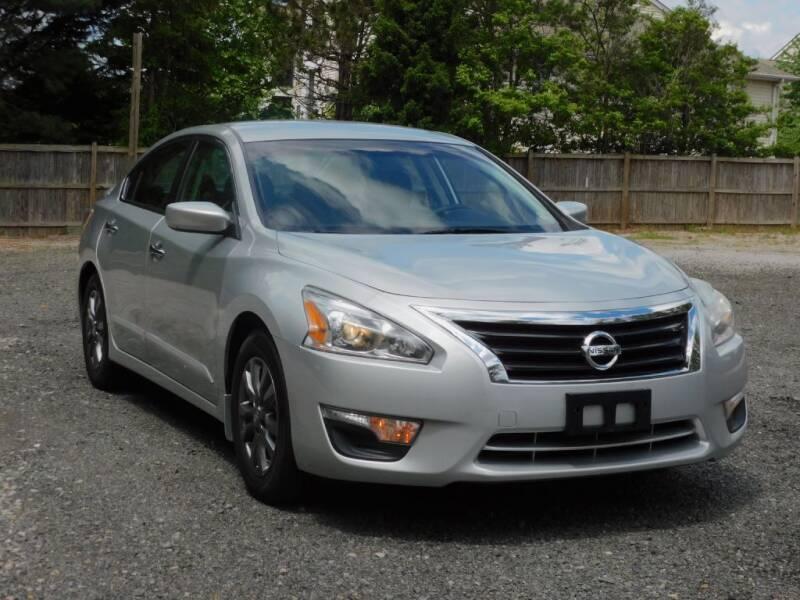 2015 Nissan Altima for sale at Prize Auto in Alexandria VA