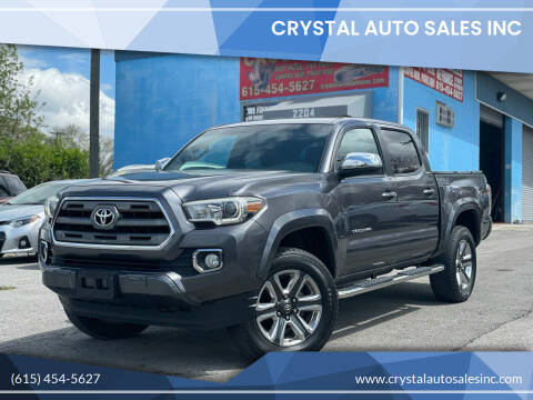 2016 Toyota Tacoma for sale at Crystal Auto Sales Inc in Nashville TN