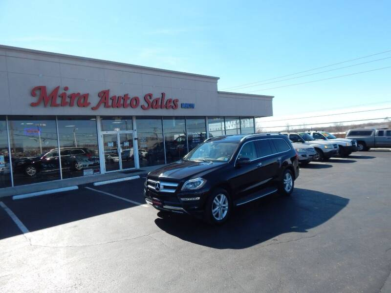 2014 Mercedes-Benz GL-Class for sale at Mira Auto Sales in Dayton OH