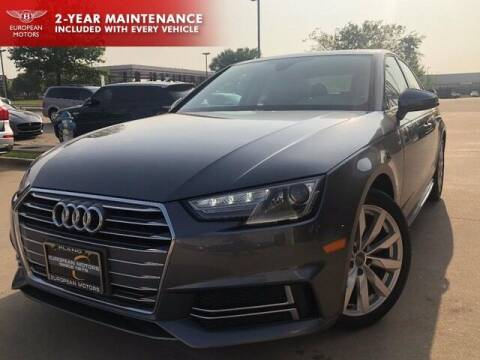 2018 Audi A4 for sale at European Motors Inc in Plano TX