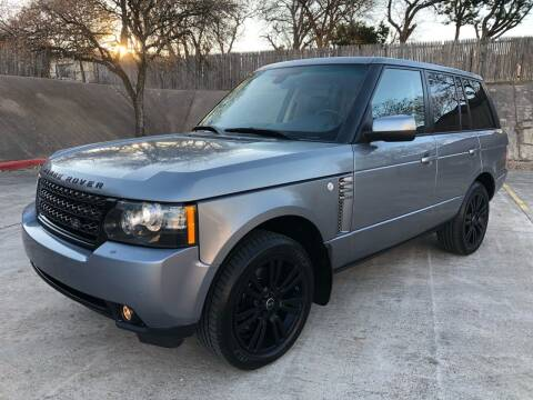 2012 Land Rover Range Rover for sale at Royal Auto LLC in Austin TX