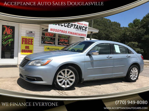 2013 Chrysler 200 for sale at Acceptance Auto Sales Douglasville in Douglasville GA