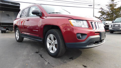 2012 Jeep Compass for sale at Action Automotive Service LLC in Hudson NY