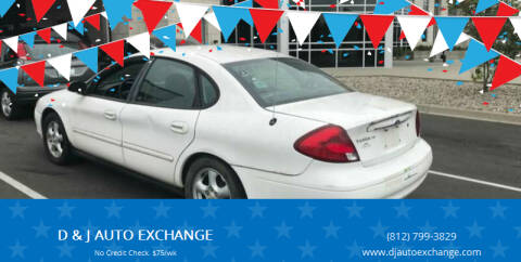 2003 Ford Taurus for sale at D & J AUTO EXCHANGE in Columbus IN