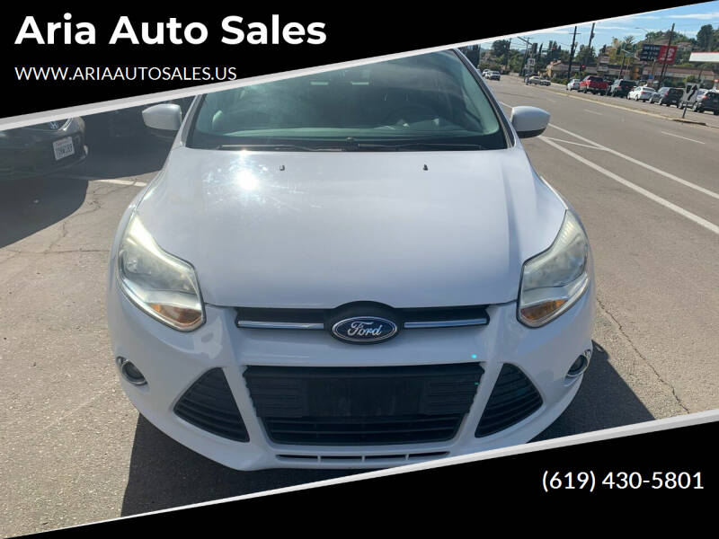 2012 Ford Focus for sale at Aria Auto Sales in El Cajon CA