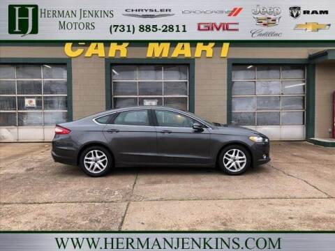 2016 Ford Fusion for sale at Herman Jenkins Used Cars in Union City TN