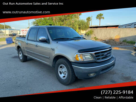 2001 Ford F-150 for sale at Out Run Automotive Sales and Service Inc in Tampa FL