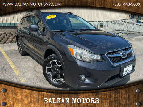 2014 Subaru XV Crosstrek for sale at BALKAN MOTORS in East Rochester NY