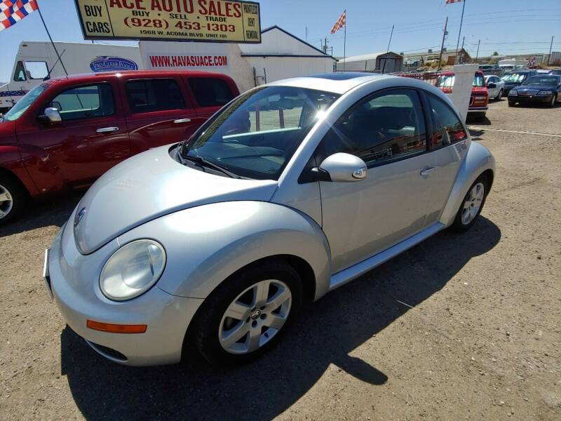 2007 Volkswagen New Beetle for sale at ACE AUTO SALES in Lake Havasu City AZ