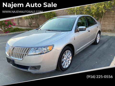 2012 Lincoln MKZ Hybrid for sale at Najem Auto Sale in Sacramento CA
