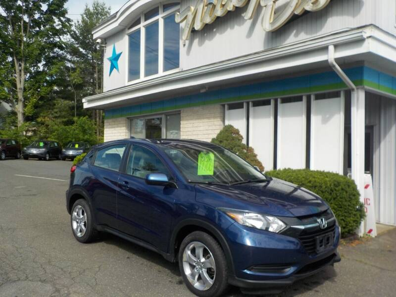 2016 Honda HR-V for sale at Nicky D's in Easthampton MA