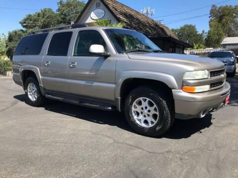 2003 Chevrolet Suburban for sale at Three Bridges Auto Sales in Fair Oaks CA
