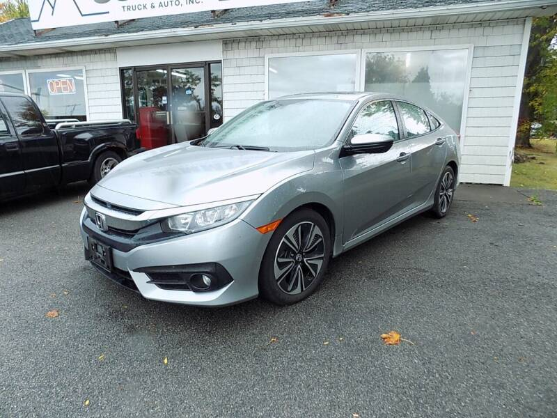 2017 Honda Civic for sale at SUMMIT TRUCK & AUTO INC in Akron NY