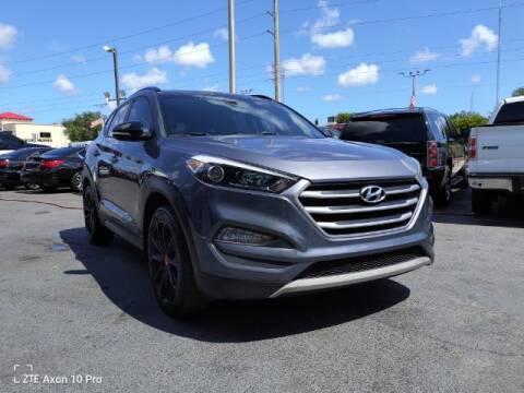 2017 Hyundai Tucson for sale at Start Auto Liquidation Center in Miramar FL