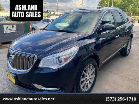 2015 Buick Enclave for sale at ASHLAND AUTO SALES in Columbia MO