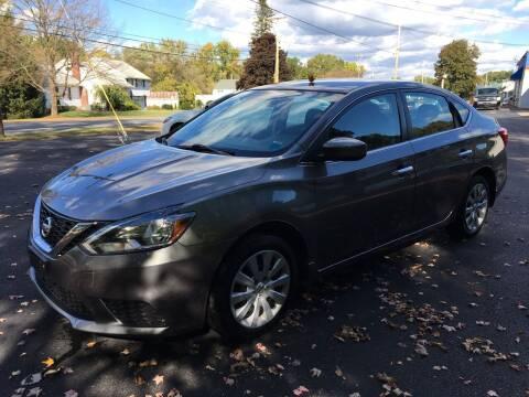 2016 Nissan Sentra for sale at Delafield Motors in Glenville NY