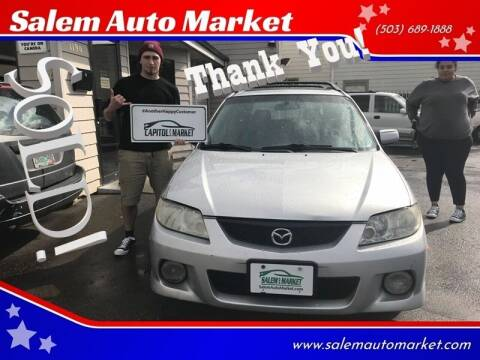 2003 Mazda Protege5 for sale at Salem Auto Market in Salem OR