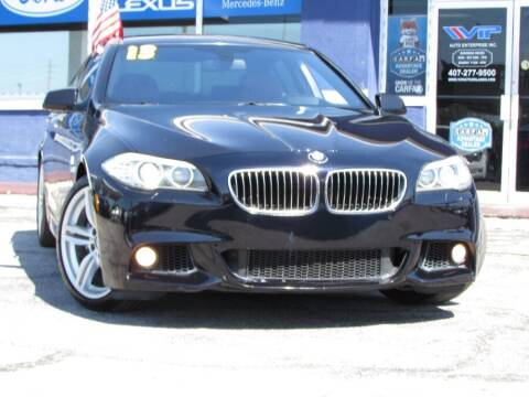 2013 BMW 5 Series for sale at VIP AUTO ENTERPRISE INC. in Orlando FL