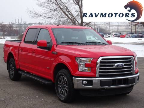 2016 Ford F-150 for sale at RAVMOTORS in Burnsville MN
