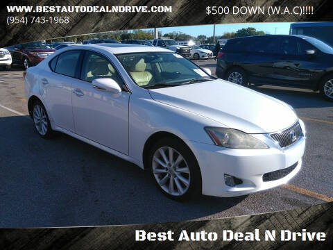 2009 Lexus IS 250 for sale at Best Auto Deal N Drive in Hollywood FL