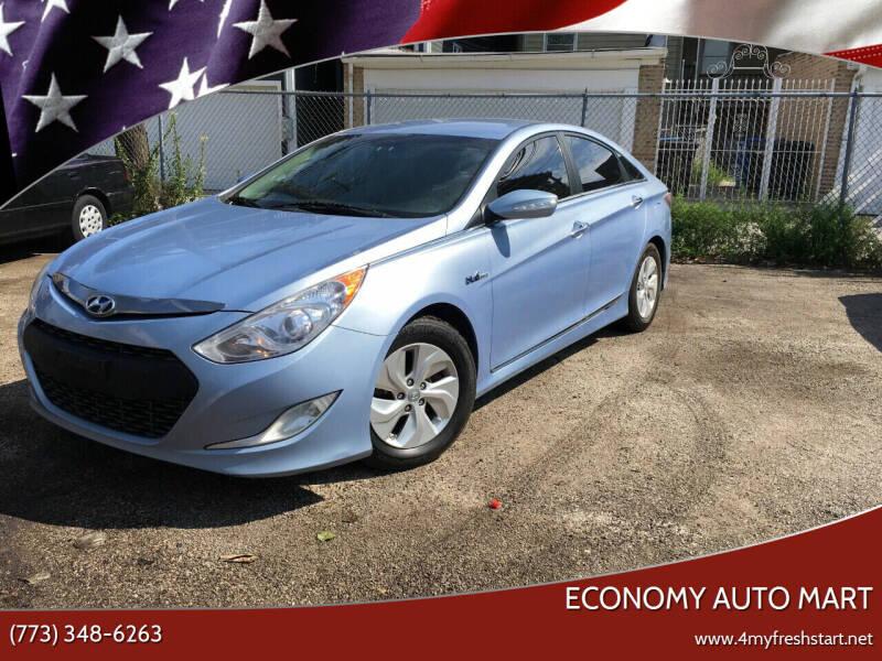 2013 Hyundai Sonata Hybrid for sale at ECONOMY AUTO MART in Chicago IL