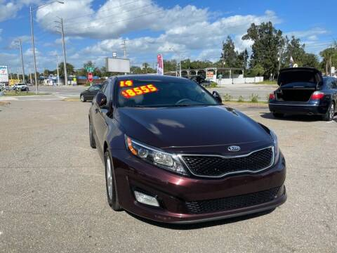 2014 Kia Optima for sale at Good Clean Cars in Melbourne FL