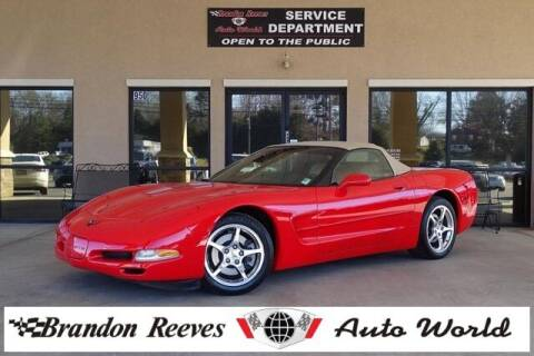 2001 Chevrolet Corvette for sale at Brandon Reeves Auto World in Monroe NC
