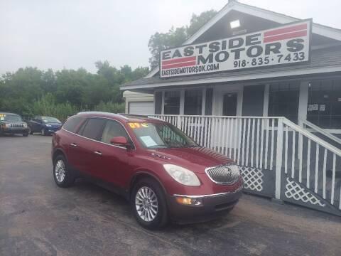 2009 Buick Enclave for sale at EASTSIDE MOTORS in Tulsa OK